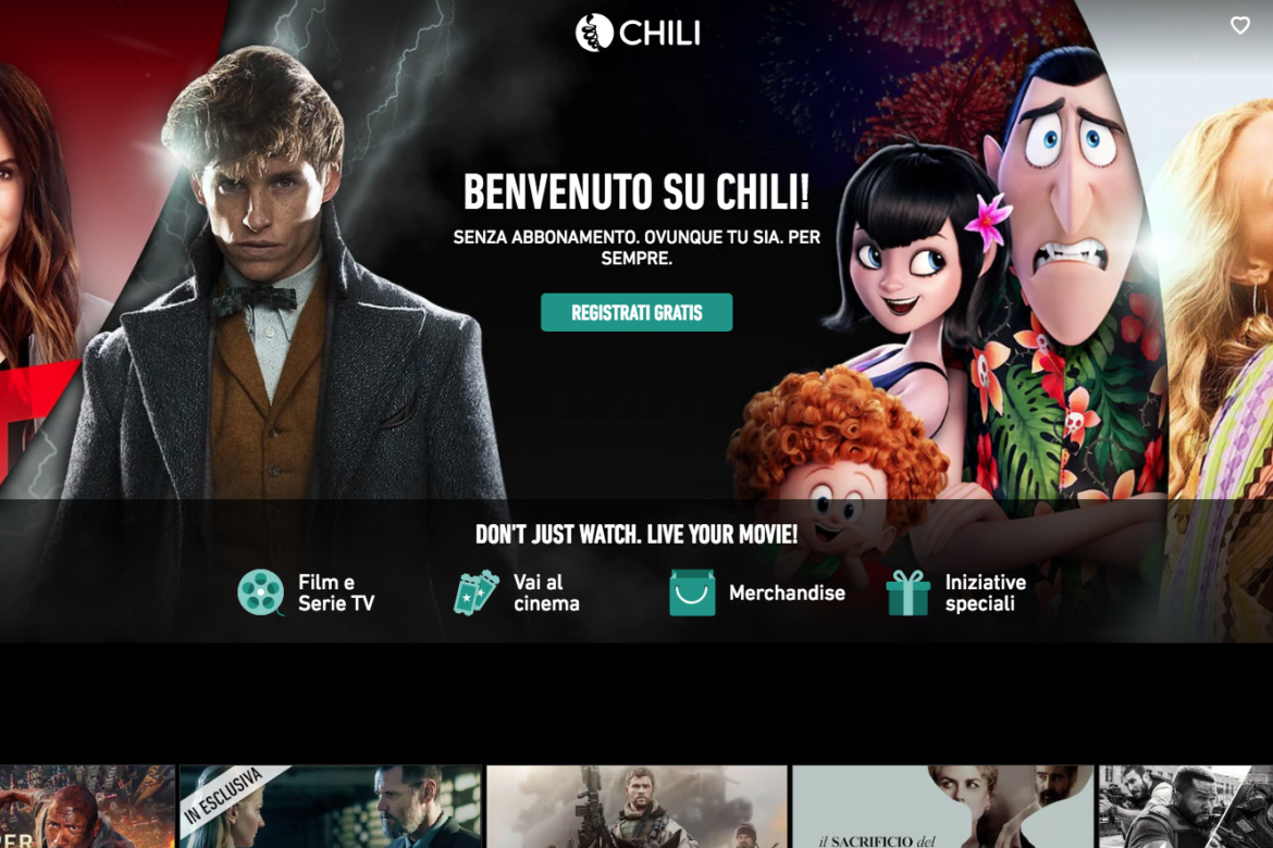 Film e serie tv su Chili gratis. Scopri come fare