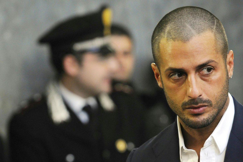 Fabrizio Corona sfrattato da casa