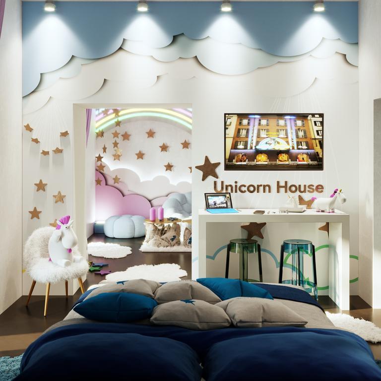house unicorn