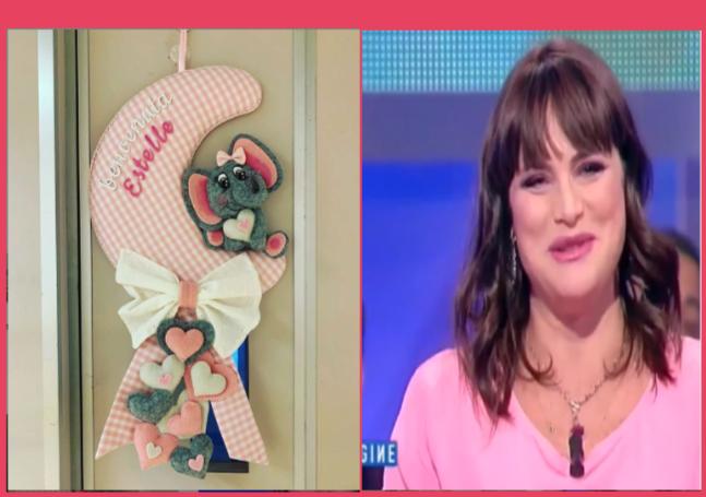 Auguri a Lorena Bianchetti. Fiocco rosa, finalmente mamma