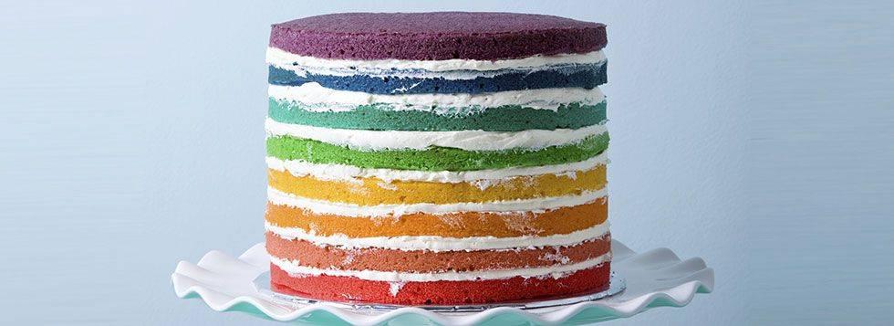 Come fare la Torta multicolor. La ricetta