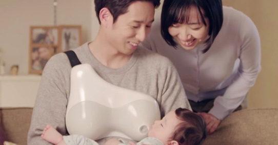 allattamento papà