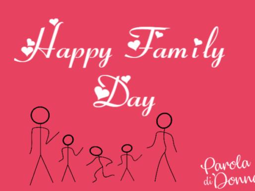 Il 15 Maggio è la Giornata Internazionale della Famiglia