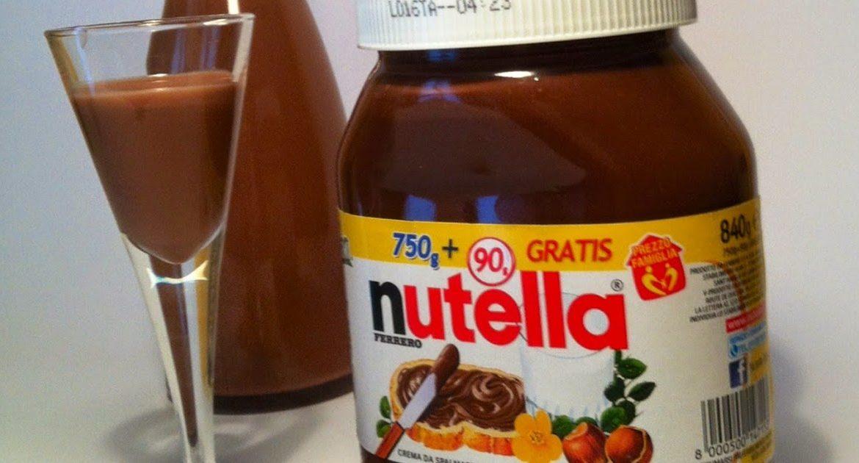 Come fare il Liquore alla Nutella. La ricetta
