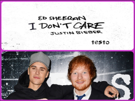 I Don't Care, di Ed Sheeran ft. Justin Bieber testo del nuovo singolo