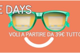 """""""Smile Days"""" vola con Alitalia e paghi solo 39€"""