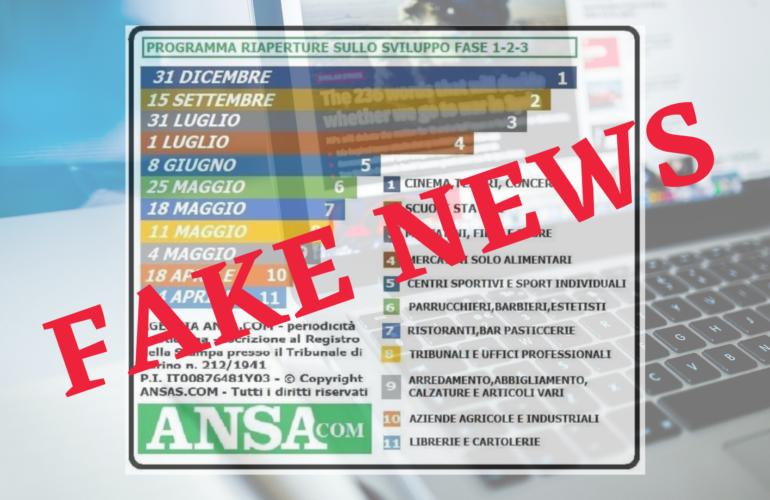 ansa fake news