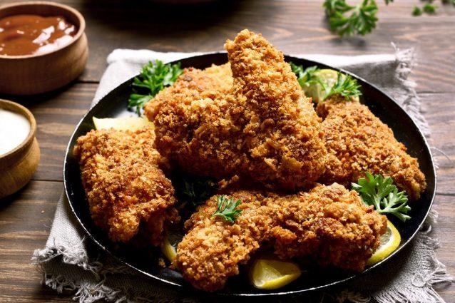 alette di pollo croccanti al forno
