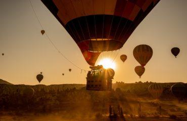 volare in mongolfiera in Italia