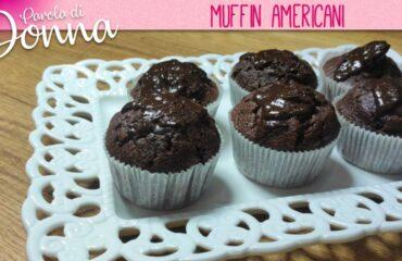 ricetta muffin americani