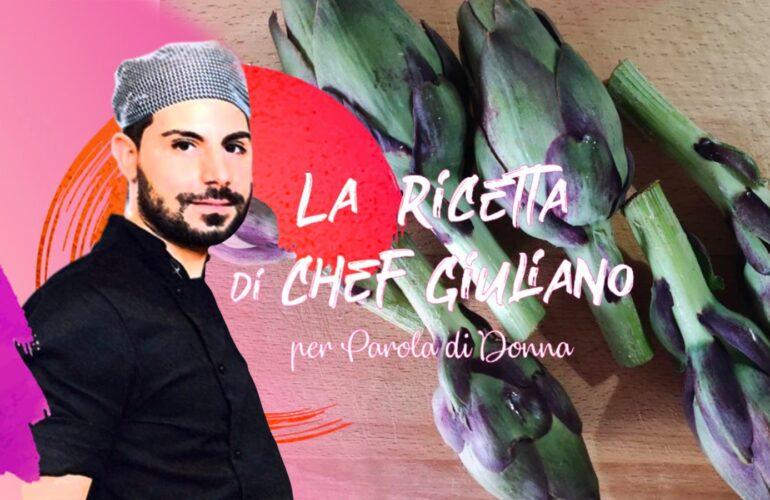 come pulire i carciofi: step by step con Chef Giuliano
