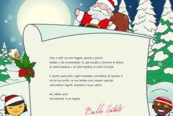 Come ricevere gratis la lettera di Babbo Natale per i vostri bambini