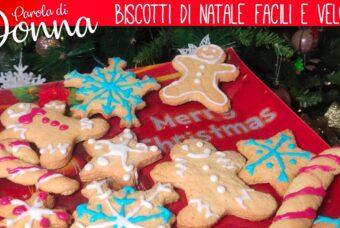 Biscotti di Natale con ghiaccia reale: ricetta facile