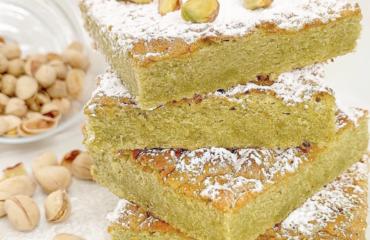 torta tenerina al pistacchio