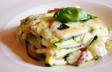 lasagna di zucchine e prosciutto